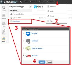 New Features Alert: Access and import YouTube and Vimeo videos from within your Schoology Resources and embed them right into your course materials without ever leaving Schoology! Check out these new resource apps and other exciting, new features in our latest blog post: http://t.sch.gy/ImzJb
