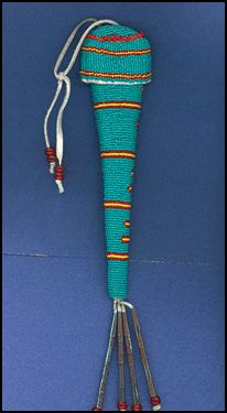 native american beaded awl | Native American Crafts and Supplies: Awl Case Kit, Deluxe (Beaded ...