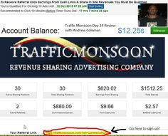 Traffic Monsoon Day 34 Review No Hype! No BS! (You Will Make Money)  We cracked the code to web business failure This system works for everyone 100% Make money in the next hour Guaranteed!  www.easymoneyrecipe.com