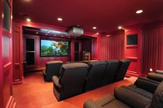 The home theater for entertainment. Chester Twp., NJ Coldwell Banker Residential Brokerage