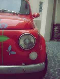 #Fiat 500 .. #love this pic!