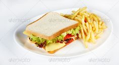 sandwich with french fries ...  american, barbeque, beef, bread, bun, cheddar, cheese, cheeseburger, closeup, delicious, dinner, dips, fast food, fat, french fries, fried, grilled, hamburger, ketchup, lettuce, lunch, meal, meat, nutrition, plate, potato, seed, sesame, slice, snack, tasty, toast, tomato, vegetable