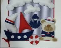 Resultado de imagem para ursinho marinheiro quadro