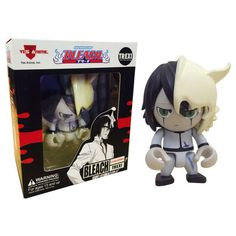 From the hit Bleach anime series! This Bleach Ulquiorra Anime Trexi features the popular character rendered in the iconic trexi mini-figure styling. Figure measures tall and features multiple points of articulation. Bleach Renji, Ichigo And Rukia, Bleach Anime, Bleach Figures, Vinyl Figures, Action Figures, Pop Figures, Anime Puppy