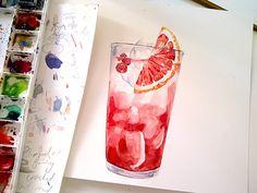 Drinkable Things by Tuan Nini, via Behance