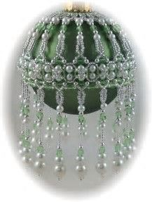 Image result for Free Seed Bead Ornament Cover Patterns