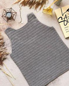 Simple Crochet, Modern Crochet, Easy Crochet Patterns, Crochet Crafts, Crochet Clothes, Pandora, Stylish, Women, Ideas