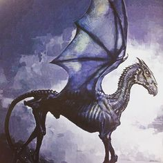 Thestral from Magical Creatures #harrypottercolouringbook #studiopress…