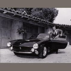 McQueen & the 250 Lusso, it doesn't get any cooler than this.
