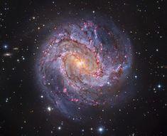 M83: The Thousand-Ruby Galaxy  Image Credit: Subaru Telescope (NAOJ), Hubble Space Telescope, --- Oct. 8 --- European Southern Observatory - Processing & Copyright: Robert Gendler