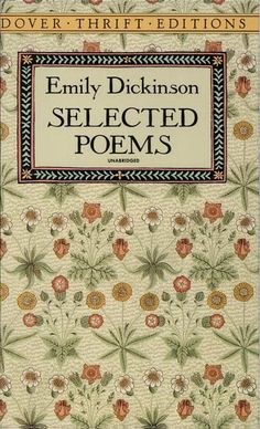 Emily Dickinson. #reading #books #poets