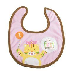 Creative Converting Sweet at One Girls First Birthday Fabric Bib - Sweet Safari Pink 1st Birthday Fabric Bib - Departments - Toys - $2.99