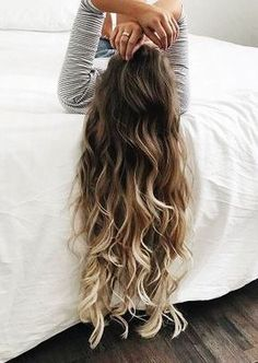 40 Ideas Hair Color Brown Balayage Stylists For 2019 Brown Ombre Hair, Ombre Hair Color For Brunettes, Ombré Hair, Long Wavy Hair, Short Hair, Summer Long Hair, Wavy Perm, Long Ombre Hair, Long Curly