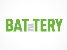 Battery designed by Naftoli Mann. Connect with them on Dribbble; the global community for designers and creative professionals. Battery Logo, Elephant Design, Word Design, Negative Space, Logo Design Inspiration, Illustration, Infographic, Typography, Branding