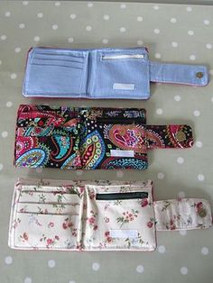 Project Ninety Five: A Lovely Pile of Wallets from Old Jeans | so resourceful