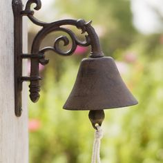 Decorative Garden Bell from Cox and Cox