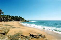 Kovalum Beach, Kerala, India.