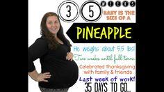 35 Week Pregnancy Update ♥