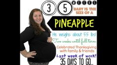 35 Week Pregnancy Update ♥