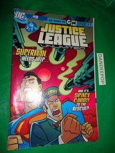 DC Comic No 18 Justice League Unlimited 2006 find me at www.dandeepop.com