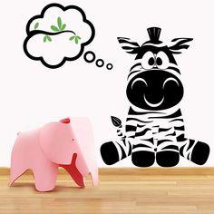 Néhány finom zöld levél... csak ez járhat a Zebrabébi fejében. #faltetoválás#falmatrica#lakásdekoráció#lakásfelújítás#babaszoba#gyerekszoba#gyerekmatrica#gyerekszobadíszítése#gyerekminta#zebra#zebrabébi Snoopy, Character, Home Decor, Art, Homemade Home Decor, Kunst, Decoration Home, Lettering, Interior Decorating