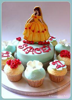 BCLC : Belle Birthday Cake by Scrumptious Buns (Samantha), via Flickr