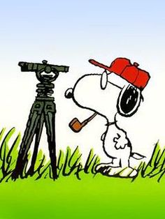 Snoopy surveying
