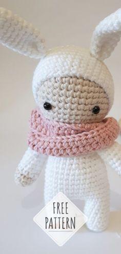 Mesmerizing Crochet an Amigurumi Rabbit Ideas. Lovely Crochet an Amigurumi Rabbit Ideas. Baby Knitting Patterns, Crochet Amigurumi Free Patterns, Crochet Animal Patterns, Crochet Animals, Baby Patterns, Sewing Patterns, Crochet Stitches, Knitting Toys, Crochet Rabbit Free Pattern