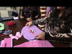 Mulher.com 02/05/2014 Regina Silva - Bolsa bebê patch Parte 1/2