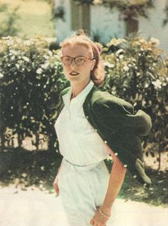 Grace Kelly in Jamaica, 1955. Photographed by Howell Conant for Collier's.