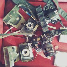 Minolta 7000 maxxum AF, Canon 550D, Cmena