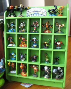 Skylanders Display Boys Room Design, Boys Room Decor, Boy Room, Kids Room, Game Storage, Diy Storage, Storage Ideas, Skylanders Party, Star Wars Fan Art