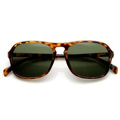 f744b3061bd0 Mens Retro Fashion Keyhole Square Aviator Sunglasses 9176