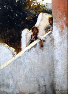 John Singer Sargent  Ricordi Di Capri, 1878