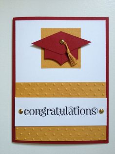 Handmade Graduation Card on Etsy, $5.00