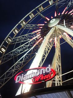 Diamond Wheel in Antwerp. My tips for things to do in Antwerp: http://www.europealacarte.co.uk/blog/2012/08/20/what-to-do-antwerp/