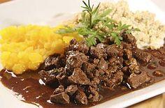 Picadinho de carne   Carnes   Receitas Gshow