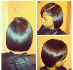 Cute Bob - Black Hair Information Community
