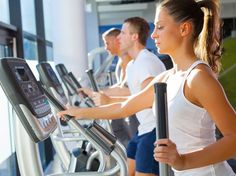5 tips for using the elliptical cross trainer properly - Tess G.- 5 tips for using the elliptical trainer well – - Elliptical Cross Trainer, Elliptical Workouts, Tabata, Burn Fat Build Muscle, Aerobics Workout, Workout Regimen, Workout Routines, Fitness Planner, Veils