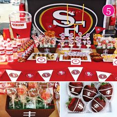 {Party of 5} Glam Baby Shower, Ocean 12th Birthday, Haunted Saloon Halloween, Tiffany Shower, & 49ers Football Tailgate
