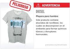 Diesel Playera   #Detox #Fashion