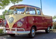 VW Samba Pickup | Flickr - Photo Sharing!