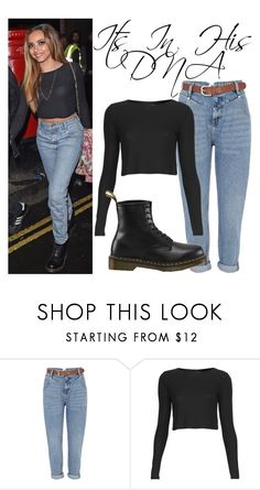 """""""Jade Thirlwall Shadow Lounge Nightclub June 21, 2015"""" by katiehorror ❤ liked on Polyvore featuring River Island, Topshop and Dr. Martens"""