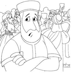prodigal son coloring page | parable of prodigal son-the lost son-biblekids.eu