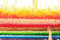 emmanuelle moureaux sets 100 colors no.9 against backdrop of tokyo's zojoji temple