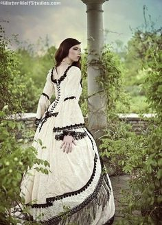 Gothic Renaissance Medieval Fantasy Gown with by RomanticThreads, $1150.00