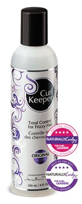 Curl Keeper Original - I use this when I air dry my hair - soft, lovely waves/curl.  Better than when I blow it dry with other products and better than no product when air drying.