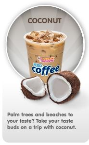 Coconut Iced Coffee.....my favorite!!