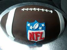 NFL Football Cake by Tatiana Alvarez