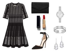 """""""Bez tytułu #4"""" by julia2112 ❤ liked on Polyvore featuring Gianvito Rossi, Kate Spade, Plukka, BillyTheTree, Chanel and LULUS"""
